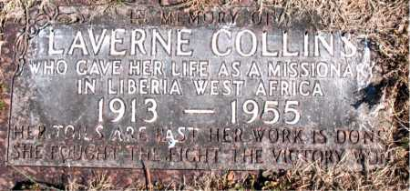 COLLINS, LAVERNE - Carroll County, Arkansas | LAVERNE COLLINS - Arkansas Gravestone Photos
