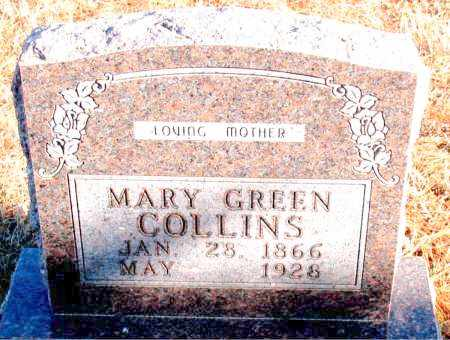 GREEN COLLINS, MARY - Carroll County, Arkansas | MARY GREEN COLLINS - Arkansas Gravestone Photos