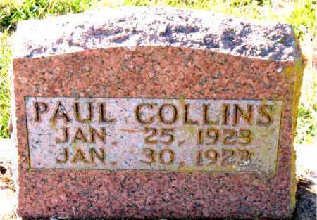 COLLINS, PAUL - Carroll County, Arkansas | PAUL COLLINS - Arkansas Gravestone Photos