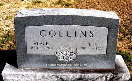 COLLINS, VIRGIE - Carroll County, Arkansas   VIRGIE COLLINS - Arkansas Gravestone Photos