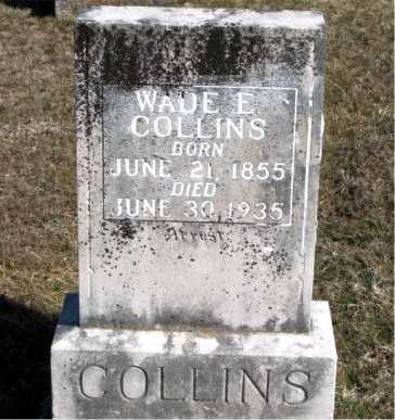 COLLINS, WADE E. - Carroll County, Arkansas | WADE E. COLLINS - Arkansas Gravestone Photos