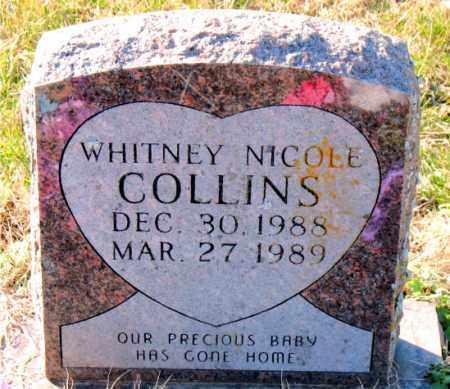 COLLINS, WHITNEY NICOLE - Carroll County, Arkansas | WHITNEY NICOLE COLLINS - Arkansas Gravestone Photos