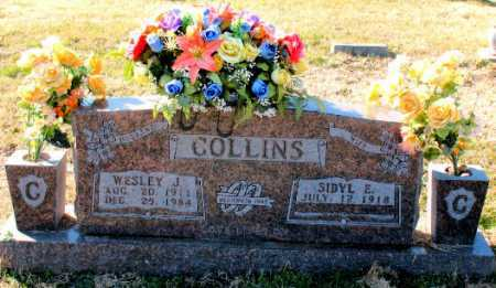 COLLINS, WESLEY  J. - Carroll County, Arkansas | WESLEY  J. COLLINS - Arkansas Gravestone Photos