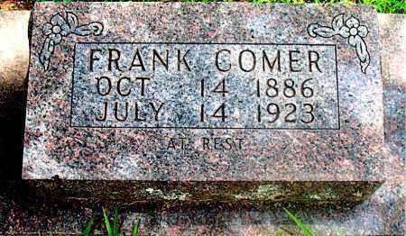 COMER, FRANK - Carroll County, Arkansas | FRANK COMER - Arkansas Gravestone Photos