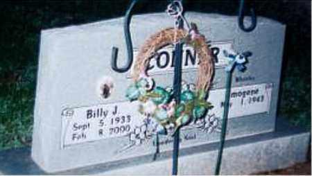 CONNER, BILLY J. - Carroll County, Arkansas | BILLY J. CONNER - Arkansas Gravestone Photos
