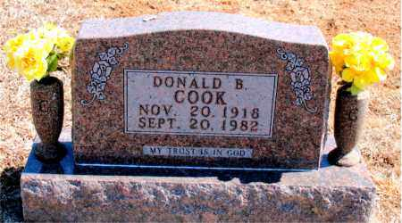 COOK, DONALD B. - Carroll County, Arkansas | DONALD B. COOK - Arkansas Gravestone Photos