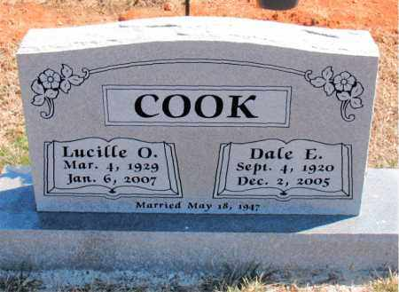 COOK, DALE E. - Carroll County, Arkansas | DALE E. COOK - Arkansas Gravestone Photos