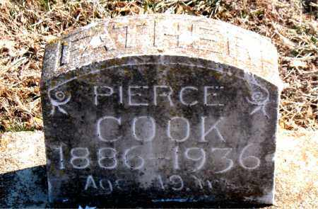 COOK, PIERCE - Carroll County, Arkansas | PIERCE COOK - Arkansas Gravestone Photos