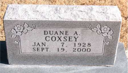 COXSEY, DUANE  A. - Carroll County, Arkansas | DUANE  A. COXSEY - Arkansas Gravestone Photos