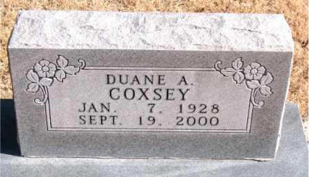 COXSEY, DUANE  A. - Carroll County, Arkansas | DUANE  A. COXSEY - Arkansas Gravestone Photos