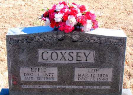 COXSEY, LOY - Carroll County, Arkansas | LOY COXSEY - Arkansas Gravestone Photos