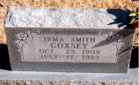 SMITH COXSEY, IRMA - Carroll County, Arkansas | IRMA SMITH COXSEY - Arkansas Gravestone Photos
