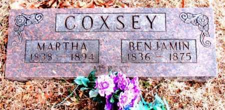 COXSEY, BENJAMIN - Carroll County, Arkansas | BENJAMIN COXSEY - Arkansas Gravestone Photos