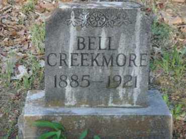 CREEKMORE, BELL - Carroll County, Arkansas | BELL CREEKMORE - Arkansas Gravestone Photos