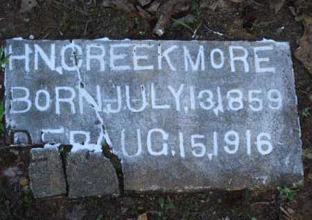 CREEKMORE, H. N. - Carroll County, Arkansas | H. N. CREEKMORE - Arkansas Gravestone Photos