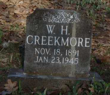 CREEKMORE, W. H. - Carroll County, Arkansas | W. H. CREEKMORE - Arkansas Gravestone Photos