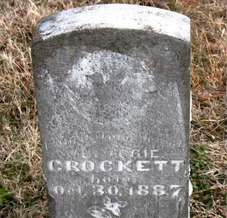 CROCKETT, INFANT DAUGHTER - Carroll County, Arkansas | INFANT DAUGHTER CROCKETT - Arkansas Gravestone Photos