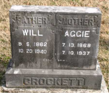CROCKETT, WILL - Carroll County, Arkansas | WILL CROCKETT - Arkansas Gravestone Photos