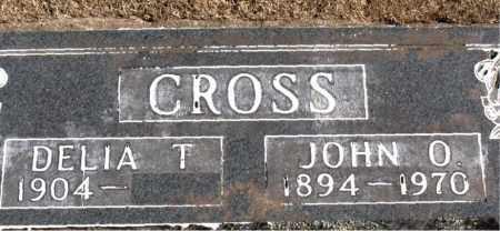 CROSS, JOHN  O. - Carroll County, Arkansas | JOHN  O. CROSS - Arkansas Gravestone Photos