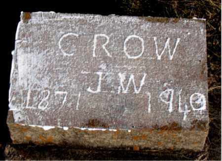 CROW, J.  W. - Carroll County, Arkansas | J.  W. CROW - Arkansas Gravestone Photos
