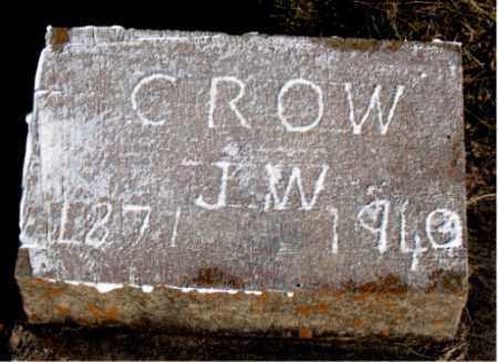 CROW, J.  W. - Carroll County, Arkansas | J.  W. CROW - Arkansas Gravestone Photos