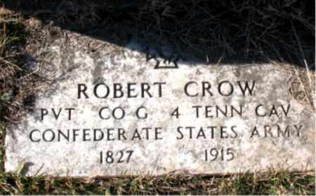 CROW  (VETERAN CSA), ROBERT - Carroll County, Arkansas | ROBERT CROW  (VETERAN CSA) - Arkansas Gravestone Photos
