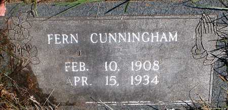 CUNNINGHAM, FERN - Carroll County, Arkansas | FERN CUNNINGHAM - Arkansas Gravestone Photos