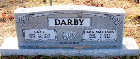 LONG DARBY, OMA MAE - Carroll County, Arkansas | OMA MAE LONG DARBY - Arkansas Gravestone Photos