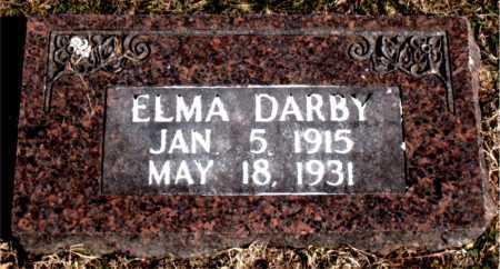 DARBY, ELMA - Carroll County, Arkansas   ELMA DARBY - Arkansas Gravestone Photos