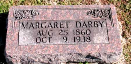 DARBY, MARGARET - Carroll County, Arkansas | MARGARET DARBY - Arkansas Gravestone Photos