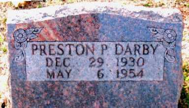 DARBY, PRESTON P - Carroll County, Arkansas | PRESTON P DARBY - Arkansas Gravestone Photos