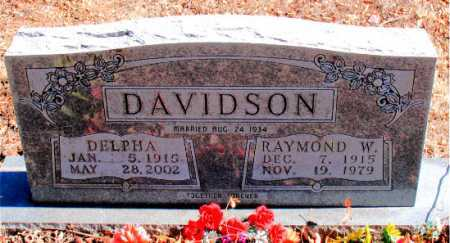 DAVIDSON, RAYMOND   W. - Carroll County, Arkansas | RAYMOND   W. DAVIDSON - Arkansas Gravestone Photos