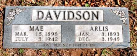 DAVIDSON, MAE - Carroll County, Arkansas | MAE DAVIDSON - Arkansas Gravestone Photos