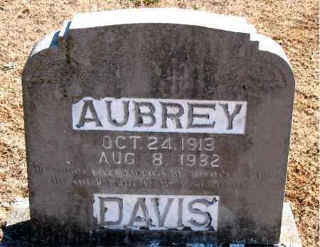 DAVIS, AUBREY - Carroll County, Arkansas | AUBREY DAVIS - Arkansas Gravestone Photos