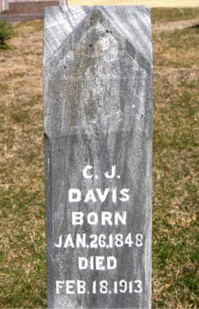 DAVIS, C  J - Carroll County, Arkansas | C  J DAVIS - Arkansas Gravestone Photos