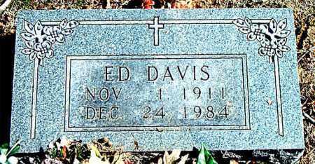 DAVIS, ED - Carroll County, Arkansas   ED DAVIS - Arkansas Gravestone Photos