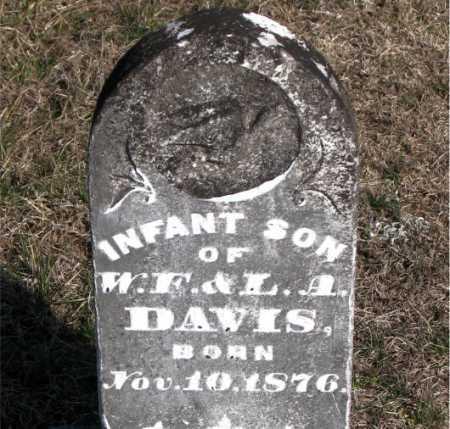DAVIS, INFANT SON - Carroll County, Arkansas | INFANT SON DAVIS - Arkansas Gravestone Photos