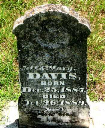 DAVIS, INFANT SON - Carroll County, Arkansas | INFANT SON DAVIS - Arkansas Gravestone Photos