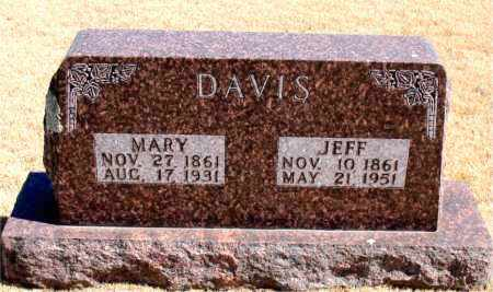 DAVIS, MARY - Carroll County, Arkansas | MARY DAVIS - Arkansas Gravestone Photos