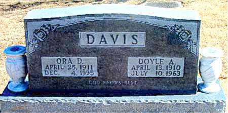 DAVIS, DOYLE A. - Carroll County, Arkansas | DOYLE A. DAVIS - Arkansas Gravestone Photos