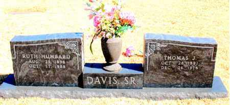 DAVIS, SR., THOMAS J. - Carroll County, Arkansas | THOMAS J. DAVIS, SR. - Arkansas Gravestone Photos