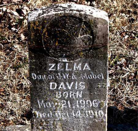 DAVIS, ZELMA - Carroll County, Arkansas | ZELMA DAVIS - Arkansas Gravestone Photos