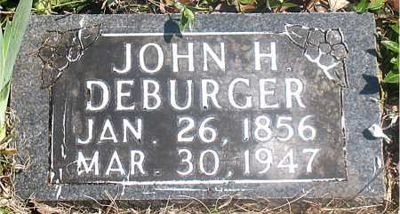 DEBURGER, JOHN H. - Carroll County, Arkansas | JOHN H. DEBURGER - Arkansas Gravestone Photos