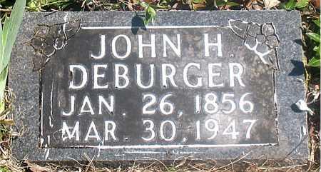 DEBURGER, JOHN H. - Carroll County, Arkansas | JOHN H. DEBURGER - Arkansas Gravestone Photos