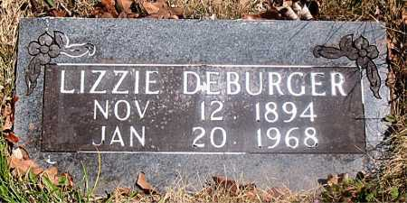 DEBURGER, LIZZIE - Carroll County, Arkansas | LIZZIE DEBURGER - Arkansas Gravestone Photos