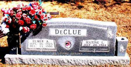 DECLUE, ELMER A. - Carroll County, Arkansas | ELMER A. DECLUE - Arkansas Gravestone Photos