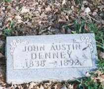 DENNEY, JOHN AUSTIN - Carroll County, Arkansas | JOHN AUSTIN DENNEY - Arkansas Gravestone Photos