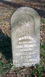 DENNEY, MARTHA - Carroll County, Arkansas | MARTHA DENNEY - Arkansas Gravestone Photos