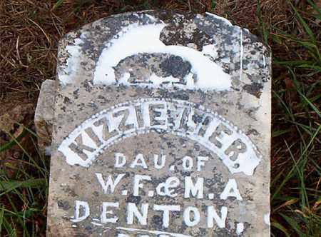 DENTON, KIZZIE  LIER - Carroll County, Arkansas | KIZZIE  LIER DENTON - Arkansas Gravestone Photos