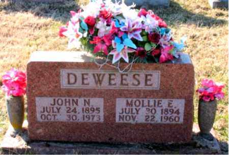 DEWEESE, MOLLIE E. - Carroll County, Arkansas | MOLLIE E. DEWEESE - Arkansas Gravestone Photos